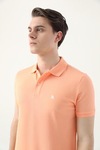 Ds Damat Regular Fit Yavruağzı Pike Dokulu T-shirt - 8682060907745 | D'S Damat