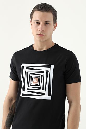 Tween Siyah T-shirt - 8682364587988 | Damat Tween