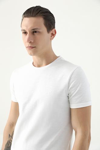 Tween Kemik Baskılı T-shirt - 8682364521753 | Damat Tween