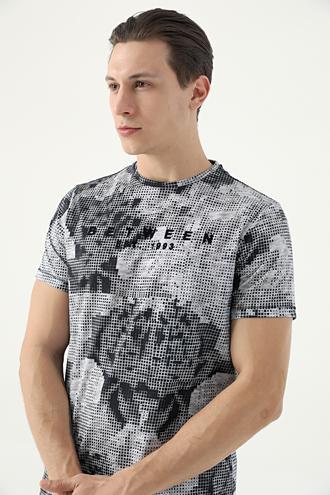 Tween Lacivert Baskılı T-shirt - 8682364783304 | Damat Tween