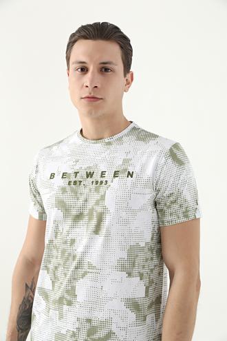 Tween Haki Baskılı T-shirt - 8682364783359 | Damat Tween