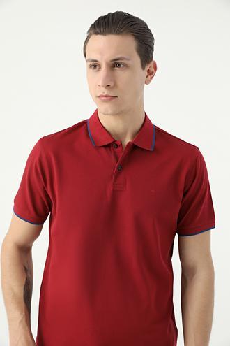Damat Bordo 60/2 Merserize T-shirt - 8682364784219 | Damat Tween