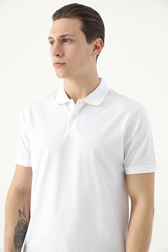 Damat Beyaz 60/2 Merserize T-shirt - 8682364784387 | Damat Tween