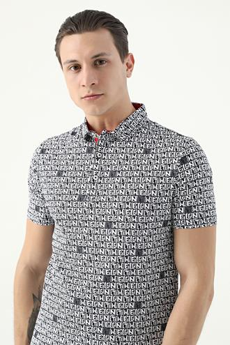 Tween Siyah Baskılı T-shirt - 8682364499144 | Damat Tween