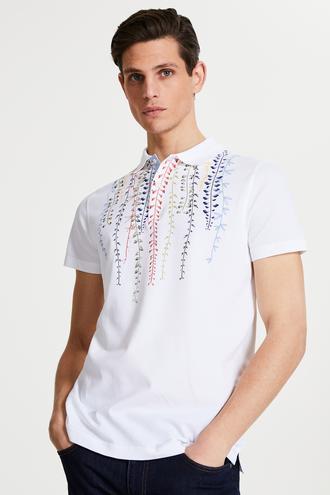 Tween Beyaz Baskılı T-shirt - 8682364499021   Damat Tween