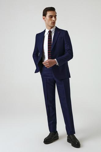 Ds Damat Slim Fit Lacivert Takım Elbise - 8682445178975 | D'S Damat