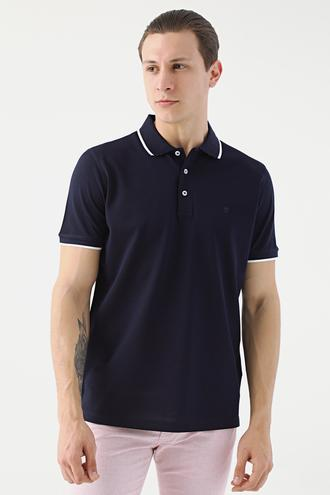 Damat Lacivert 60/2 Merserize T-shirt - 8682364585236 | Damat Tween