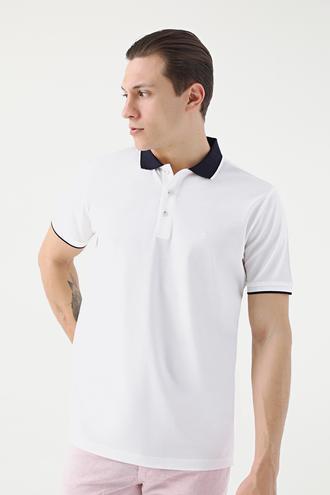 Damat Beyaz 60/2 Merserize T-shirt - 8682364585274 | Damat Tween