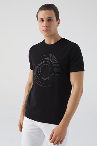 Tween Siyah T-shirt - 8682364530182 | Damat Tween