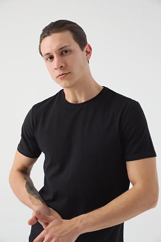 Tween Siyah T-shirt - 8682364528950 | Damat Tween