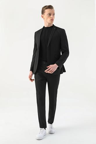 Tween Slim Fit Siyah Takım Elbise - 8682364702978 | Damat Tween