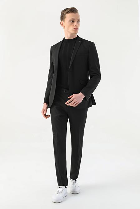 Tween Slim Fit Siyah Takım Elbise - 8682364702978   Damat Tween