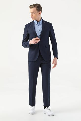 Tween Slim Fit Lacivert Takım Elbise - 8682364703067 | Damat Tween