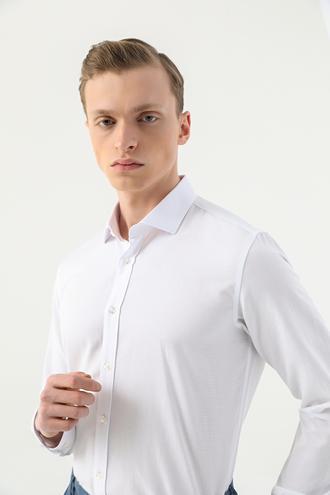Tween Slim Fit Beyaz Gömlek - 8682364535101 | Damat Tween
