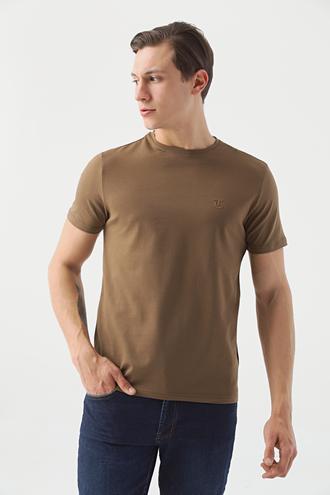 Twn Slim Fit Vizon Düz T-shirt - 8682445001426 | D'S Damat