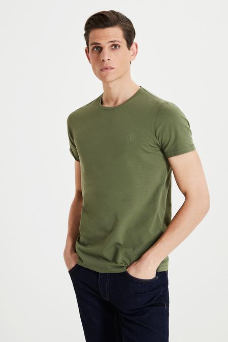 Tween Haki Baskılı T-shirt - 8682364807468 | Damat Tween