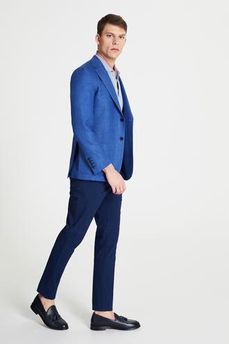 Damat Slim Fit Lacivert Chino Pantolon - 8682364792627   Damat Tween