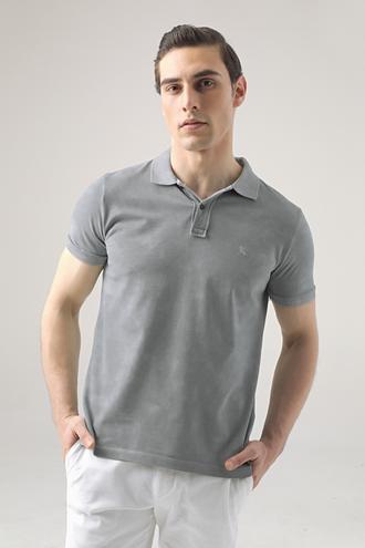 Ds Damat Regular Fit Mavi Pike Dokulu T-shirt - 8682445033069 | D'S Damat