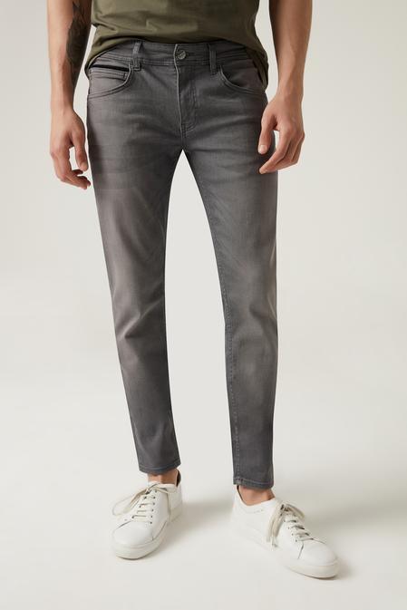 Tween Super Slim Fit Antrasit Denim Pantolon - 8682364640799 | Damat Tween