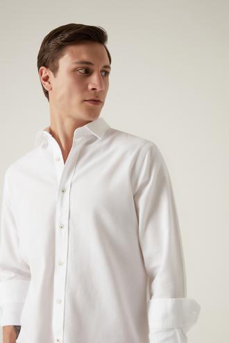 Damat Comfort Beyaz Gömlek - 8682364632497 | Damat Tween