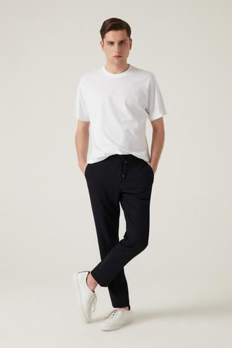 Tween Slim Fit Lacivert Jogger Pantolon - 8682364657391 | Damat Tween
