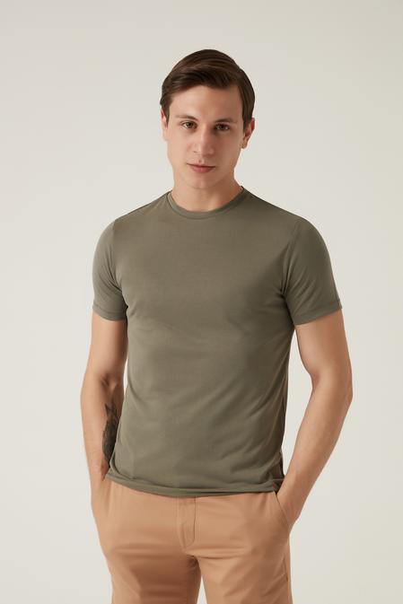 Tween Yeşil T-shirt - 8682364587872 | Damat Tween