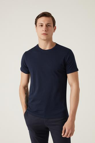 Damat Lacivert T-shirt - 8682364537556   Damat Tween