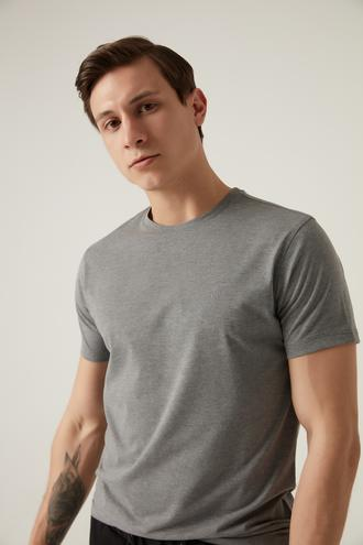 Damat Gri T-shirt - 8682364549467   Damat Tween