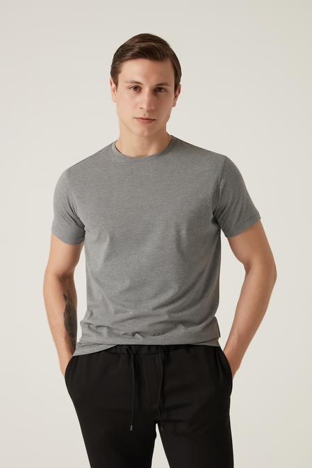 Damat Gri T-shirt - 8682364584871 | Damat Tween