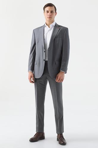 Ds Damat Comfort Gri Düz Takım Elbise - 8682445051285 | D'S Damat