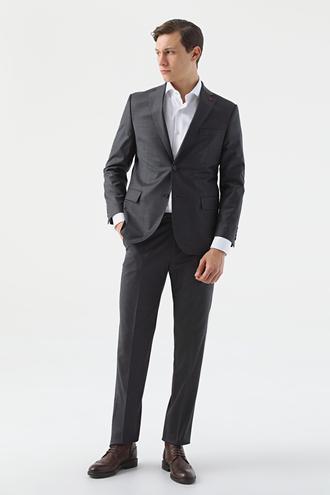 Ds Damat Comfort Antrasit Düz Takım Elbise - 8682445051582 | D'S Damat