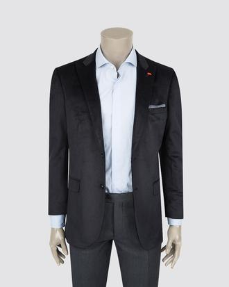 Twn Slim Fit Lacivert Desenli Kumaş Ceket - 8681494983783 | D'S Damat
