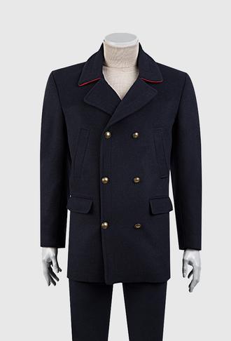 Ds Damat Regular Fit Lacivert Palto - 8681778201985 | D'S Damat