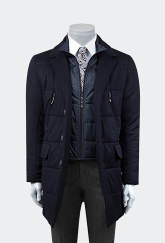 Ds Damat Regular Fit Lacivert Palto - 8681778631690 | D'S Damat