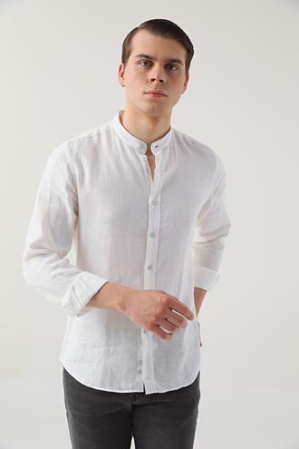 Twn Slim Fit Beyaz Gömlek - 8681778013199 | D'S Damat