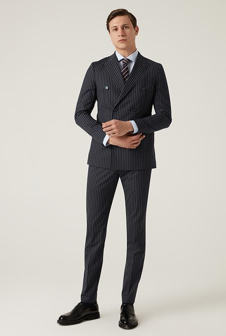Tween Slim Fit Lacivert Takım Elbise - 8682364702749 | Damat Tween