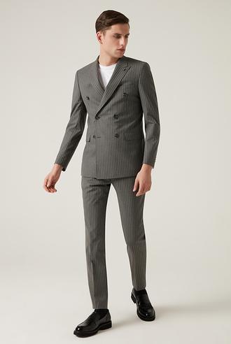 Tween Slim Fit Antrasit Takım Elbise - 8682364702909 | Damat Tween