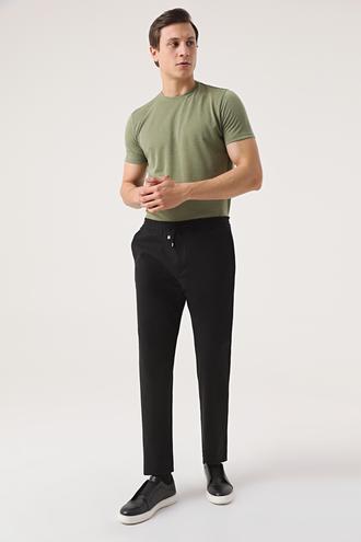 Twn Relaxed Fit Siyah Jogger Pantolon - 8682445122701 | D'S Damat