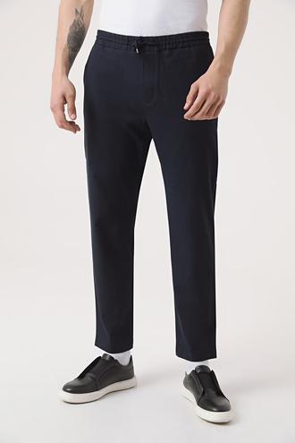 Twn Relaxed Fit Lacivert Jogger Pantolon - 8682060961747 | D'S Damat
