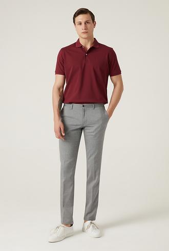 Damat Slim Fit Mavi Chino Pantolon - 8682364531141 | Damat Tween