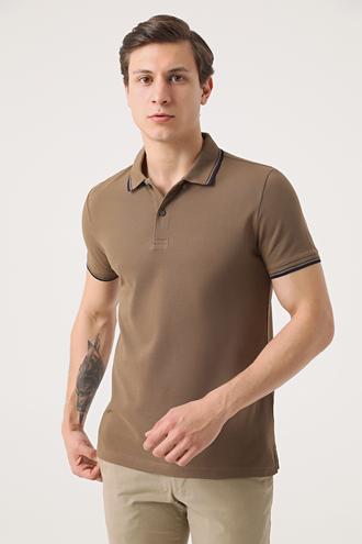 Twn Slim Fit Vizon Pike Dokulu T-shirt - 8682060908407 | D'S Damat