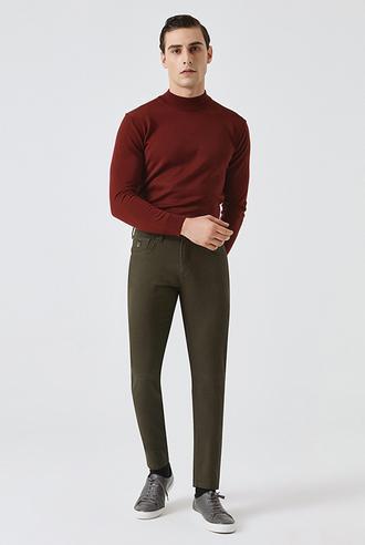 Tween Super Slim Fit Haki Chino Pantolon - 8682364011322 | D'S Damat
