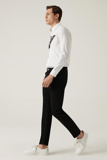 Tween Super Slim Fit Siyah Denim Pantolon - 8682364640720 | Damat Tween