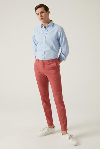 Damat Slim Fit Mercan Chino Pantolon - 8682364484713 | Damat Tween