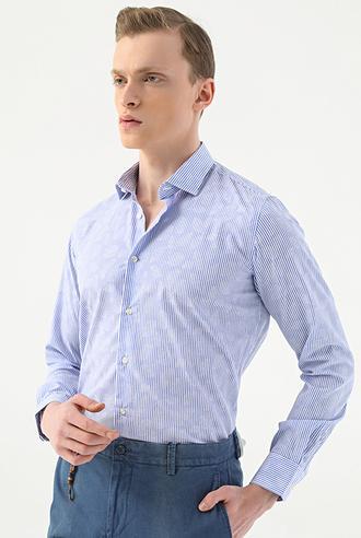 Tween Slim Fit Mavi Gömlek - 8682364500208 | Damat Tween