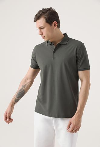 Damat Haki 60/2 Merserize T-shirt - 8682364545575 | Damat Tween