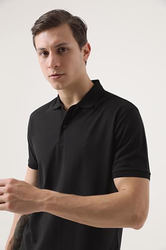 Damat Siyah 60/2 Merserize T-shirt - 8682364607280 | Damat Tween