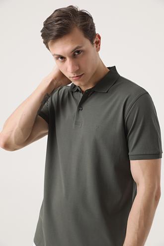 Damat Haki 60/2 Merserize T-shirt - 8682364607518 | Damat Tween