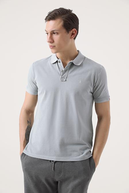 Damat Gri 60/2 Merserize T-shirt - 8682364566686 | Damat Tween