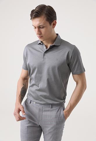 Damat Gri T-shirt - 8682364639786 | Damat Tween